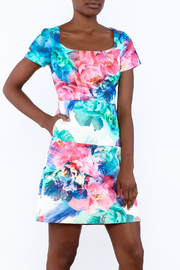 Coast Flowered Dress - Product Mini Image