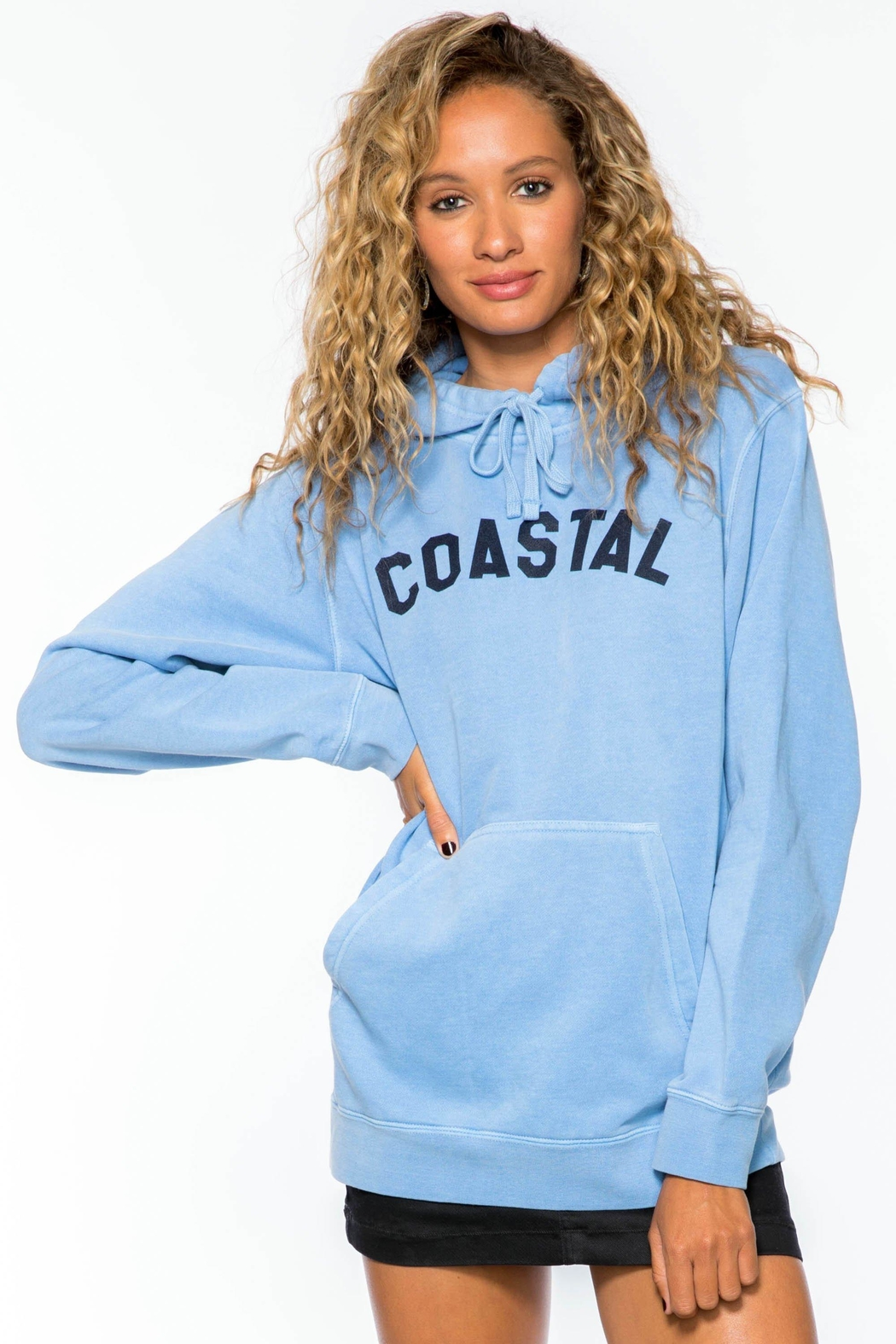 Suburban riot Coastal Hoody - Front Cropped Image
