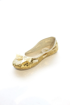 Coastal Sequin Bow Flat - Alternate List Image