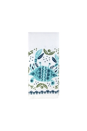 The Parish Line Coastal Towel Crab - Front cropped