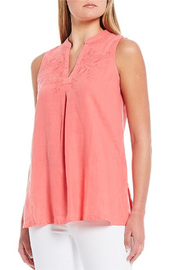 Tommy Bahama Coastalina Embroidery Sleeveless Tunic - Product Mini Image