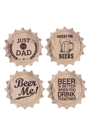 Ganz Coasters- Beers, Dad - Product Mini Image
