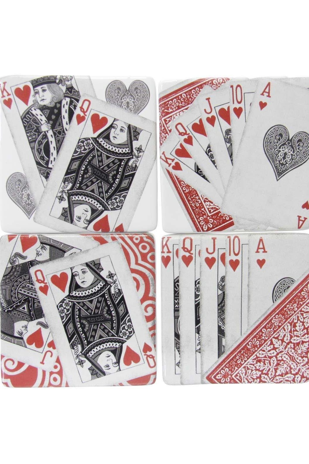 Gift Craft Coasters-Playing Cards - Front Full Image