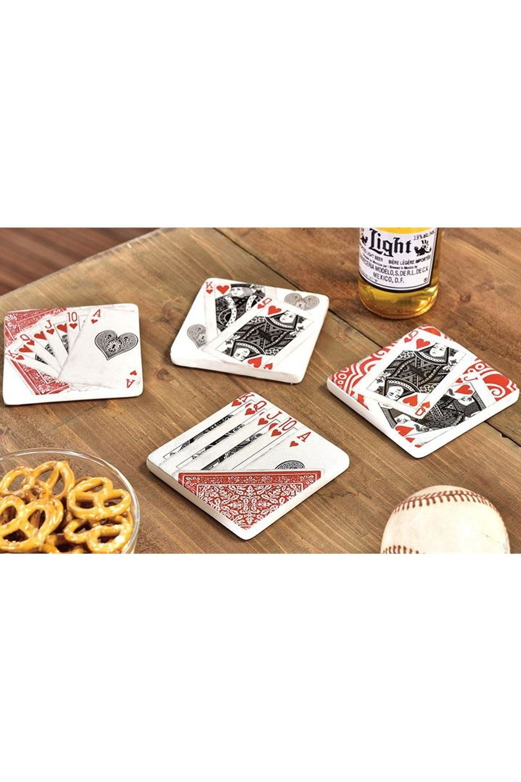 Gift Craft Coasters-Playing Cards - Main Image