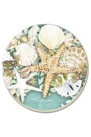 Conimar Coasters-Starfish Wreath - Front cropped