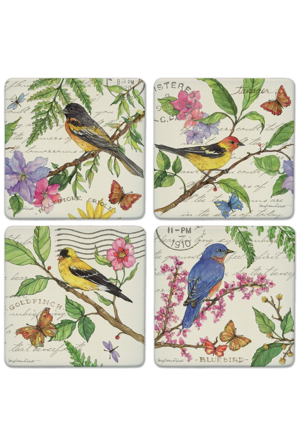 Coasterstone Bird Coaster Collection - Main Image