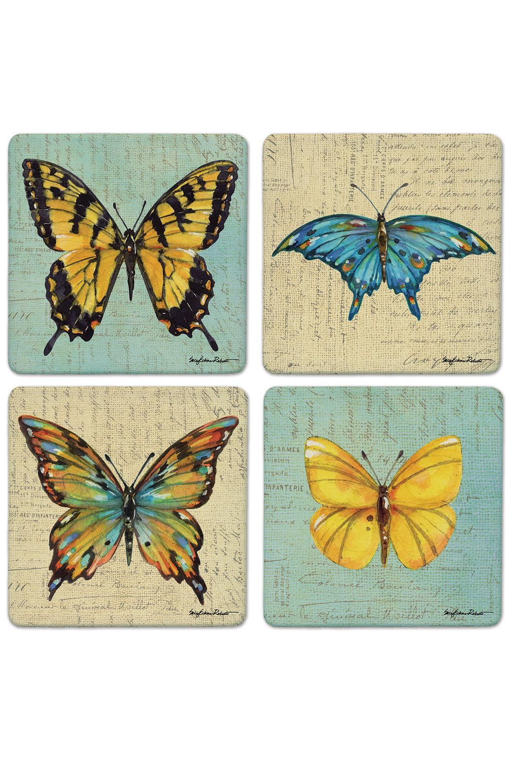 Coasterstone Butterfly Coaster Collection - Main Image
