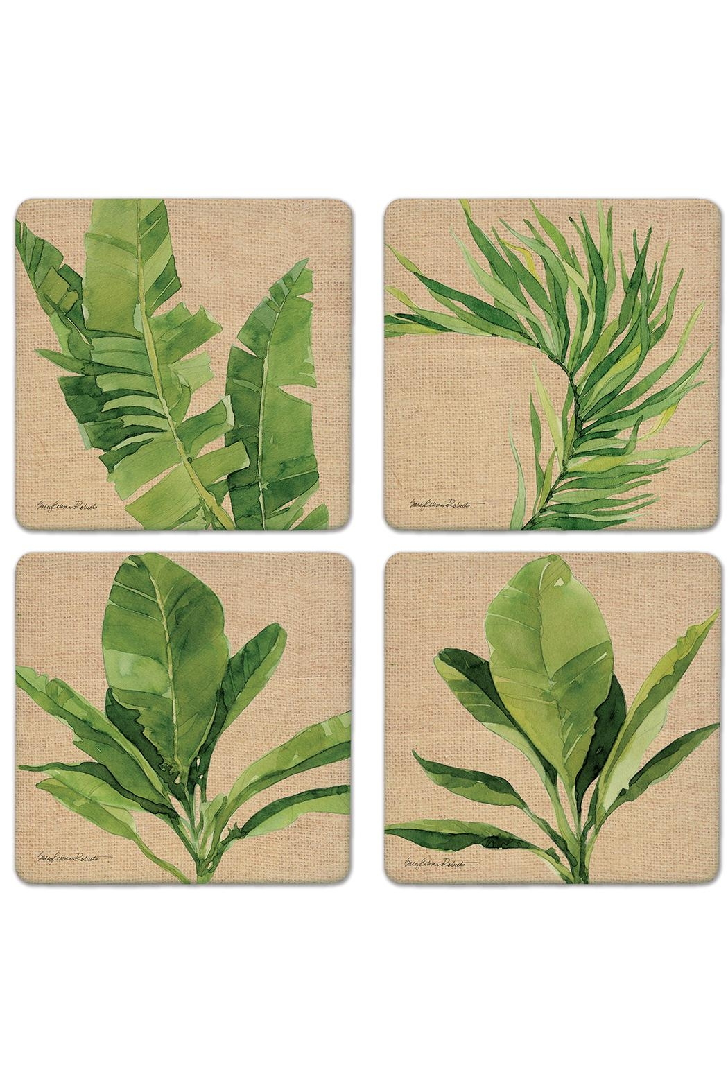 Coasterstone Palm Isle Coasters - Front Cropped Image