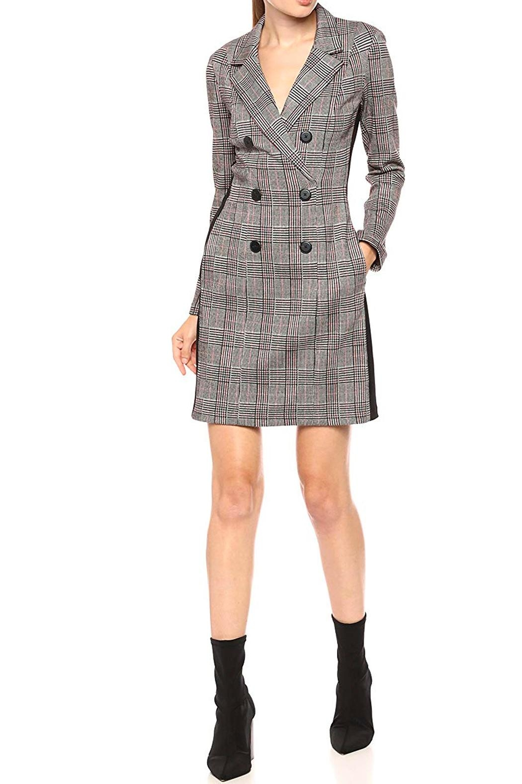 Donna Morgan Coat Dress D6484m - Front Cropped Image