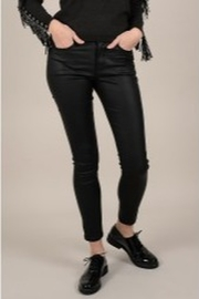 Molly Bracken Coated Zip-Up Pants - Product Mini Image