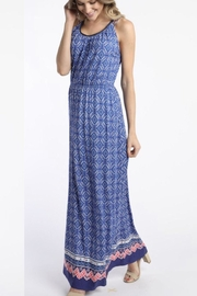 Skies Are Blue Cobalt Maxi Dress - Front cropped