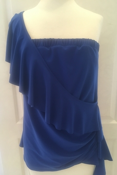Shoptiques Product: Cobalt one strap top