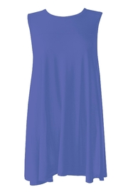Mary Square Cobalt Swing Tank - Front cropped