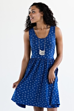 Shoptiques Product: Cobalt Tank Dress