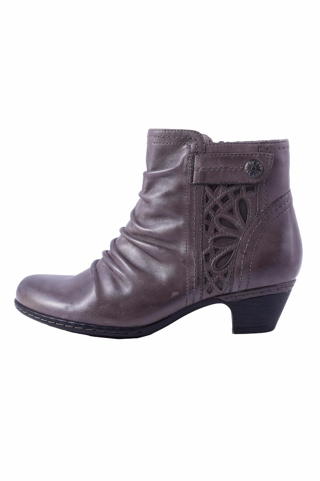 Cobb Hill Abilene Side Zip Bootie - Front Cropped Image