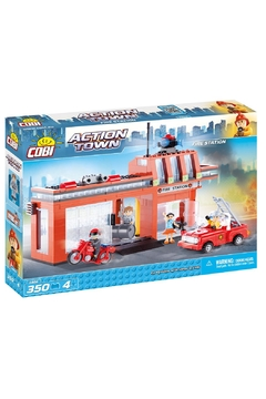 Cobi Toys Action Town Fire Station Tile - Product List Image