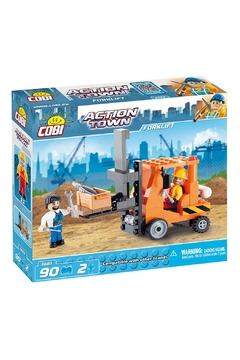 Cobi Toys Action Town Forklift Toy - Product List Image