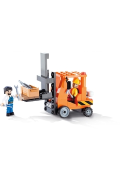 Cobi Toys Action Town Forklift Toy - Alternate List Image