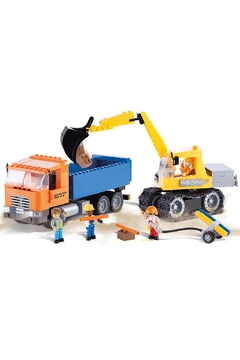 Cobi Toys Dump Truck & Excavator Tiles - Alternate List Image