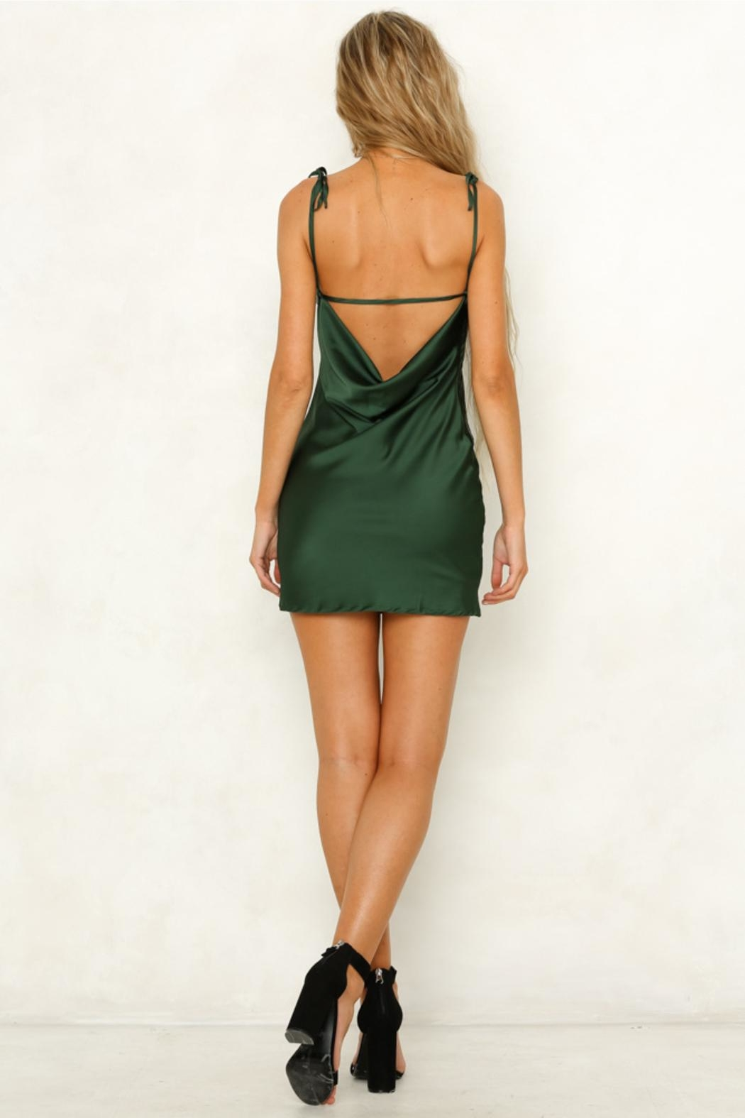 Rumor Cobra Slip Dress - Side Cropped Image