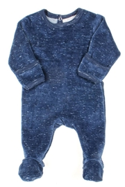 Coccoli Cotton Knitted Back Opening Footie Rompers for Newborn Baby Boy - Product Mini Image