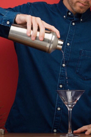 Corkcicle Cocktail Shaker 16oz - Front full body