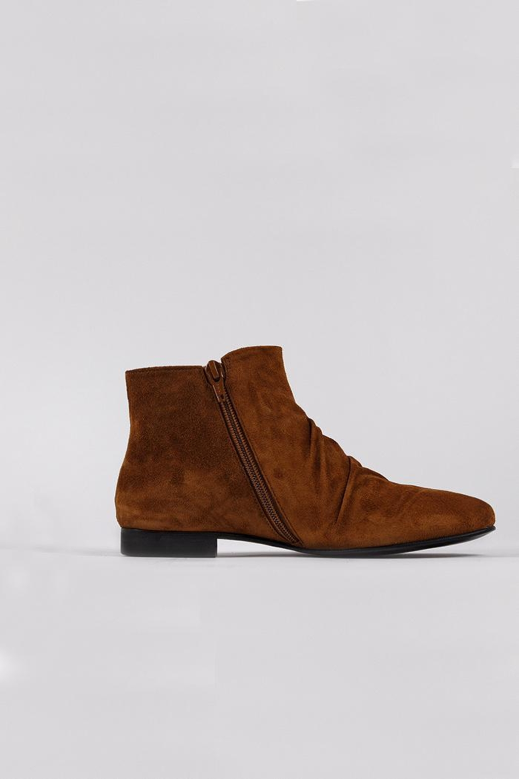 Coclico Suede Cognac Boots - Front Full Image
