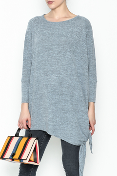 Coco + Carmen Assymetrical Tunic Top - Product List Image