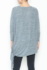 Coco + Carmen Assymetrical Tunic Top - Back cropped