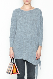 Coco + Carmen Assymetrical Tunic Top - Front full body