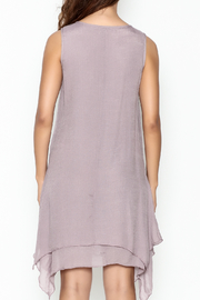 Coco + Carmen Crochet Overlay Dress - Back cropped