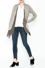 Coco + Carmen Double Layer Cardigan - Side cropped