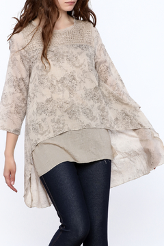 Coco + Carmen Floral Tunic - Product List Image