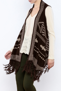 Shoptiques Product: Fringed Sweater Vest