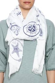 Coco + Carmen Maritime Scarf - Front full body