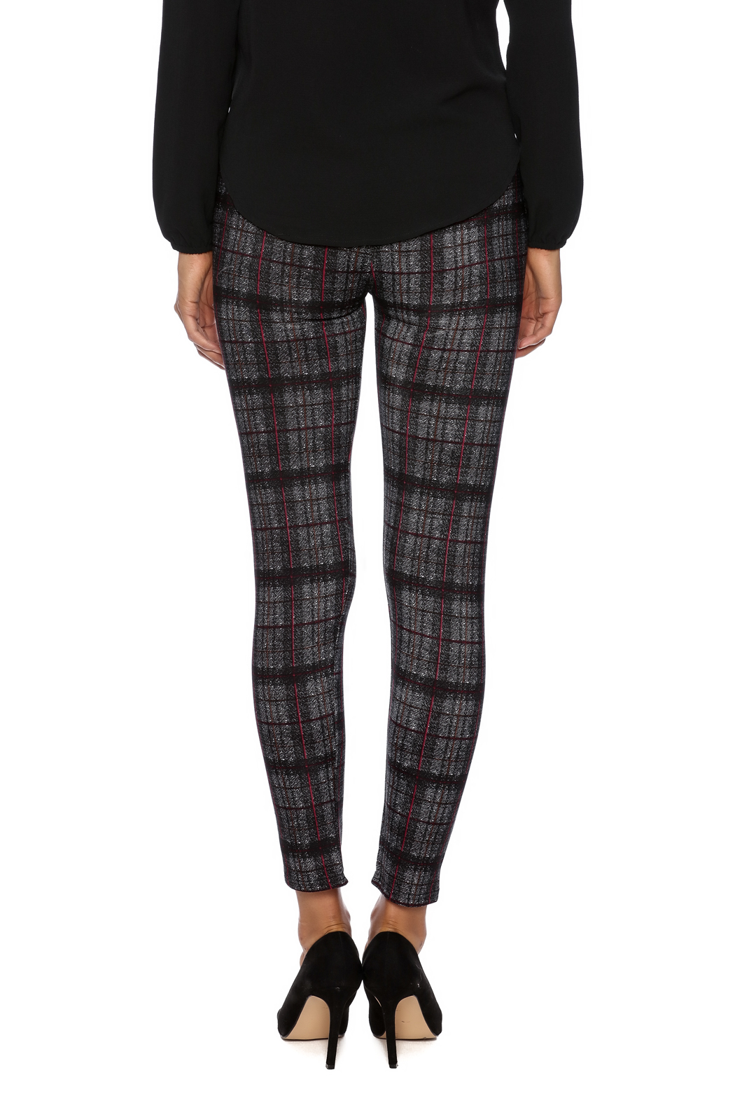 Coco + Carmen Plaid Leggings from Wisconsin by Ava's a ...