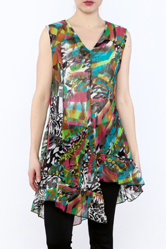 Coco + Carmen Sheer Tunic Top - Product List Image