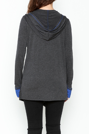 Coco + Carmen Tie Around Sweater - Back cropped