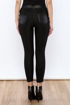 Shoptiques Product: Tuxedo Stripe Legging