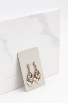 Lovers Tempo Coco Beaded Chandelier Earrings - Product List Image