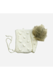 Blueberry Hill Coco Bonnet With Pom - Product Mini Image