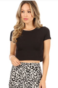 Suzette Collection Coco Crop Top - Product List Image