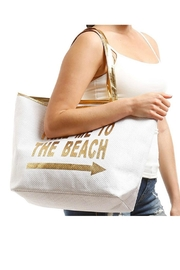 coco Large Beach Totes - Front full body