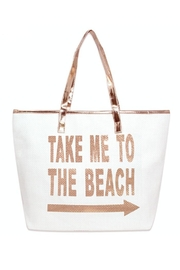coco Large Beach Totes - Front cropped