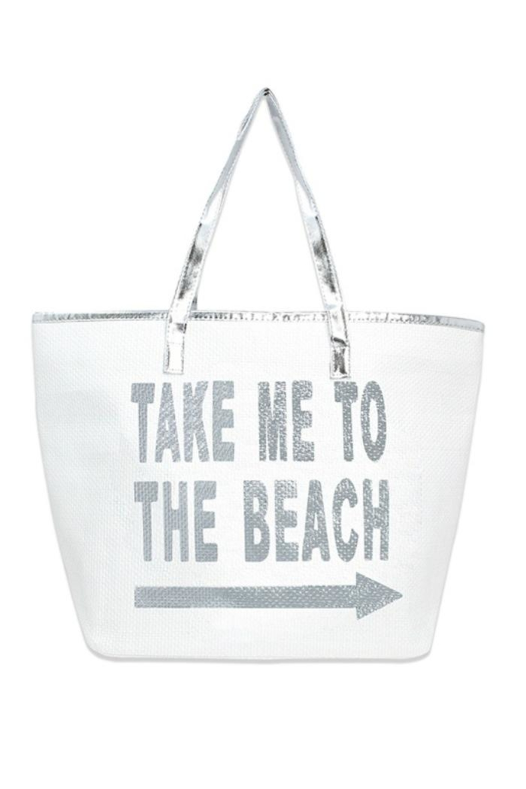 coco Large Beach Totes - Front Cropped Image