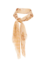 Spell & the Gypsy Collective Coco Lei Head Scarf in Caramel - Front full body