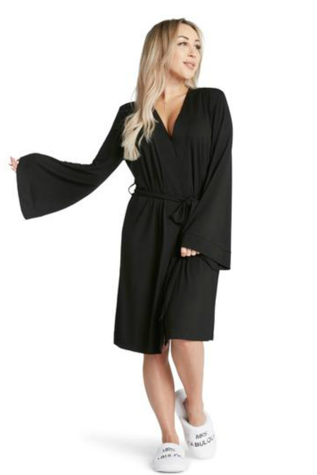 LA Trading Co. Coco Lightweight Robe - Front Full Image