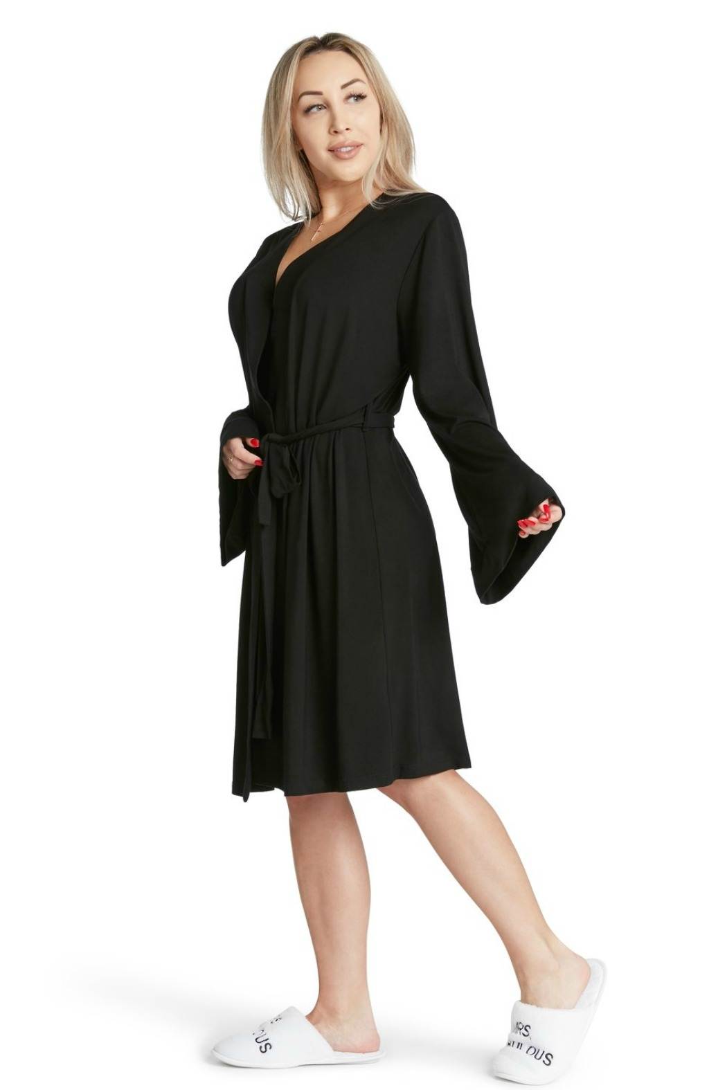 LA Trading Co. Coco Lightweight Robe - Side Cropped Image