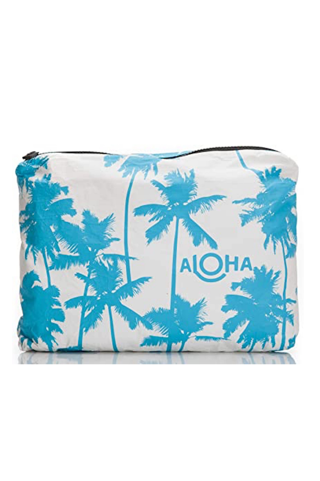 Aloha Collection Coco palms zipper bag - Front Cropped Image