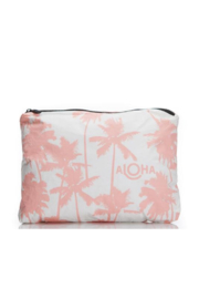 Aloha Collection Coco palms zipper bag - Front cropped